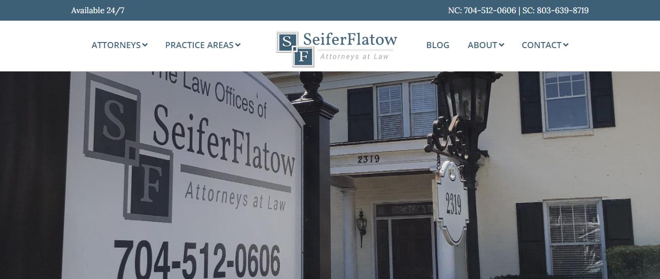 SeiferFlatow, PLLC in Charlotte, NC