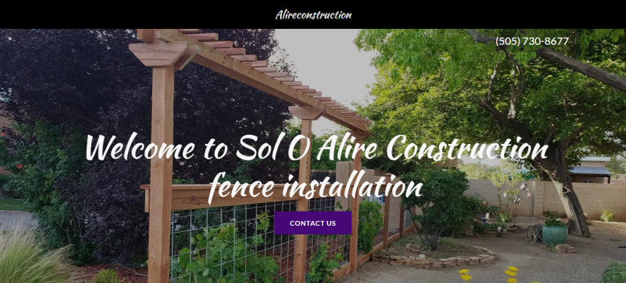 Sol O Alire Construction in Albuquerque, NM