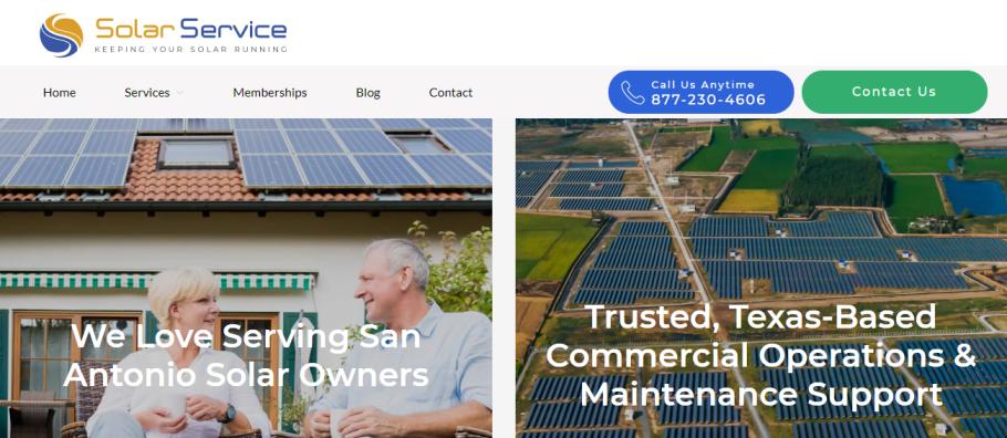 Solar Service in San Antonio, TX