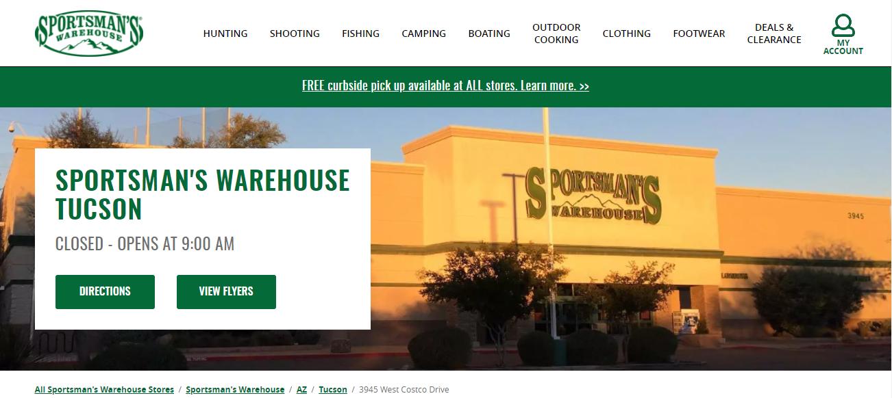 Sportsman's Warehouse in Tucson, AZ