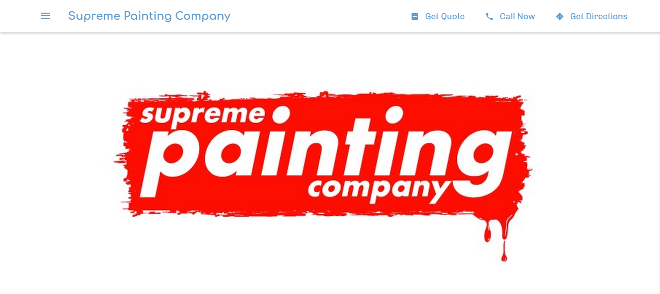 Supreme Painting Company in Detroit, MI
