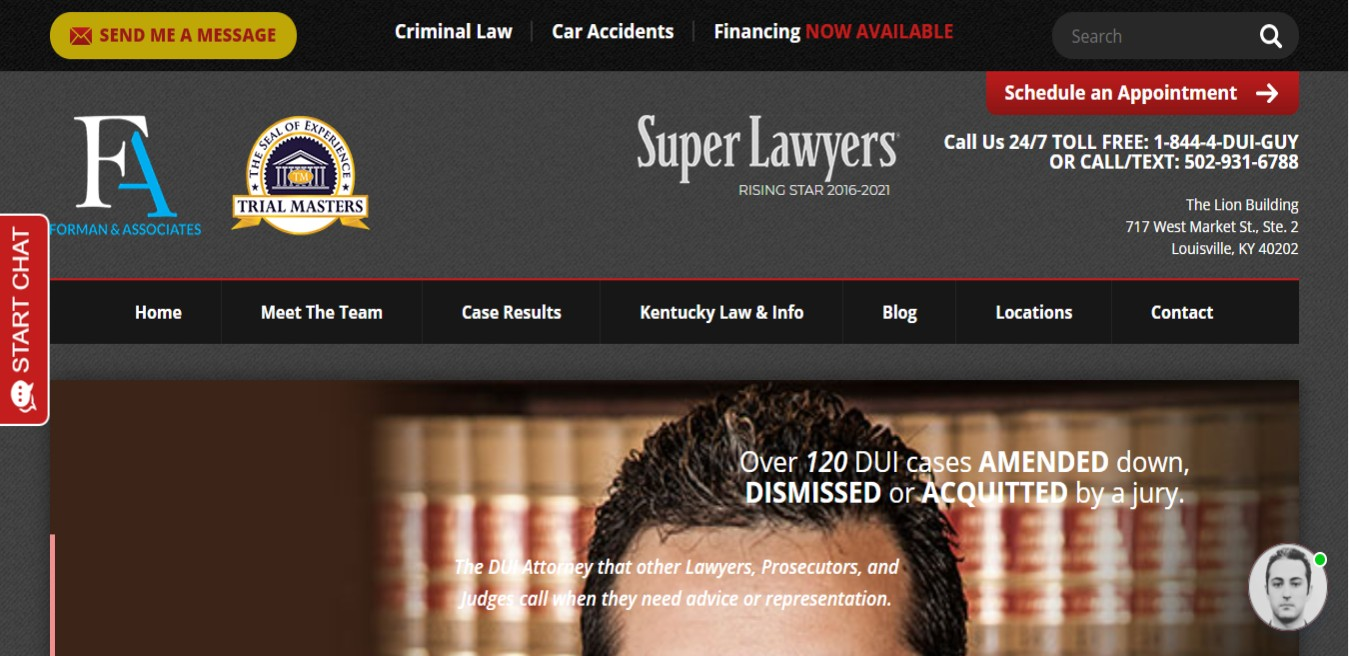 The DUI Guy BEST Drunk Driving Attorneys in Louisville, KY