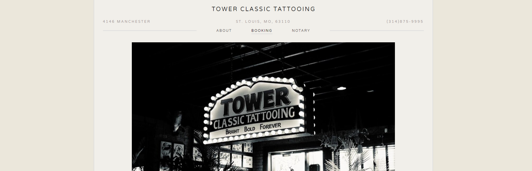 Tower Classic Tattooing