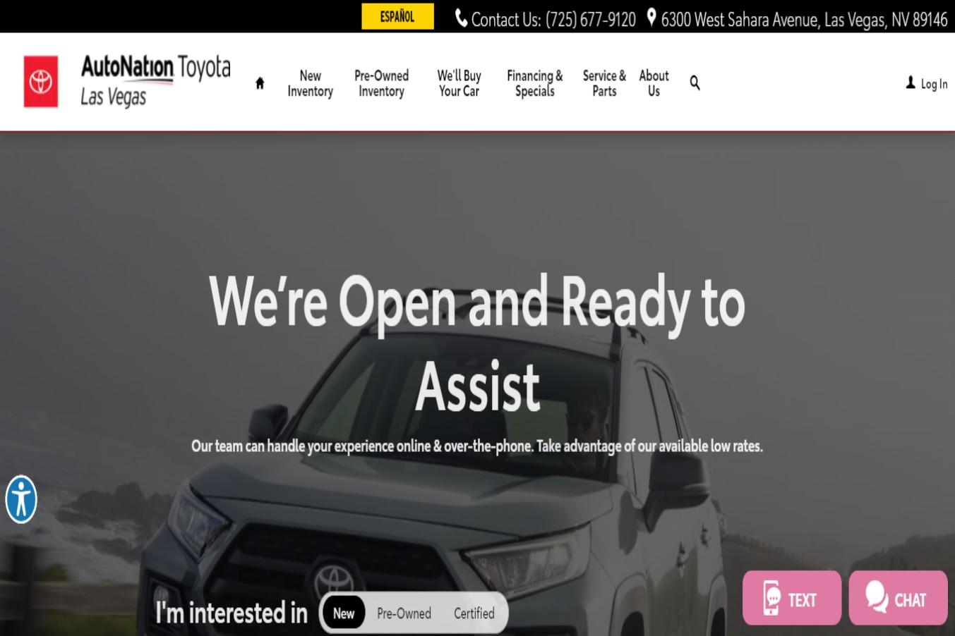 Toyota Best Car Dealerships in Las Vegas, NV