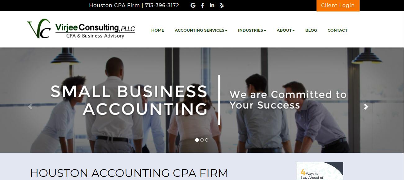 Virjee Consulting, PLLC in Houston, TX