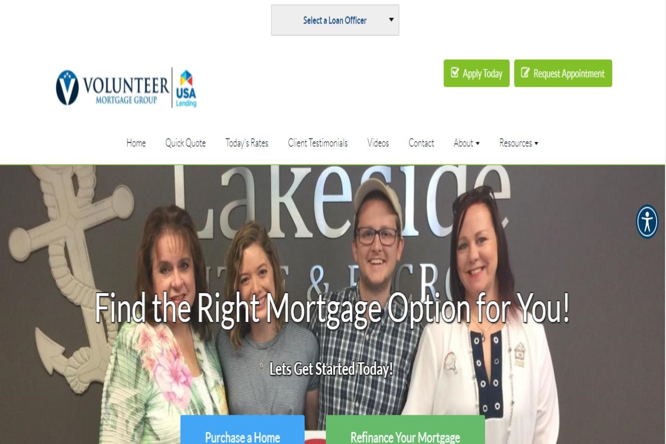 5 start mortgage broker in Nashville, TN