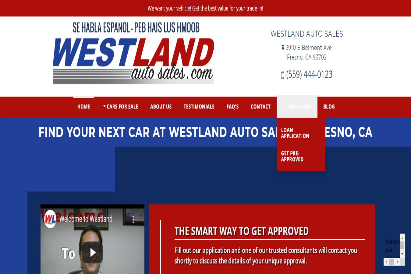 Westland Best Car Dealership in Fresno, CA