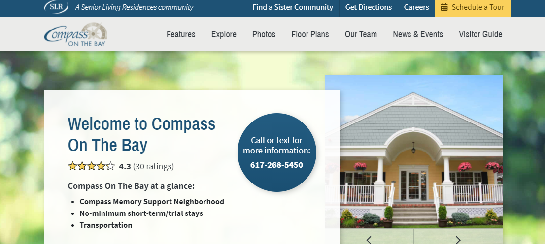 Compass on the Bay Aged Care Homes in Boston, MA