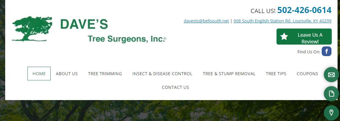 Dave's Tree Surgeons, Inc.