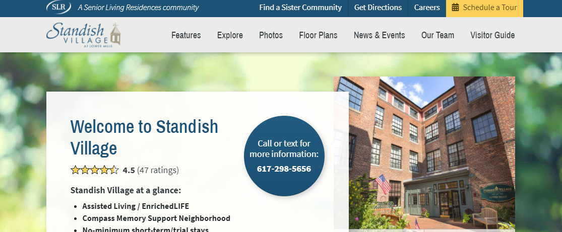Standish Village Assisted Living and Compass Memory Support