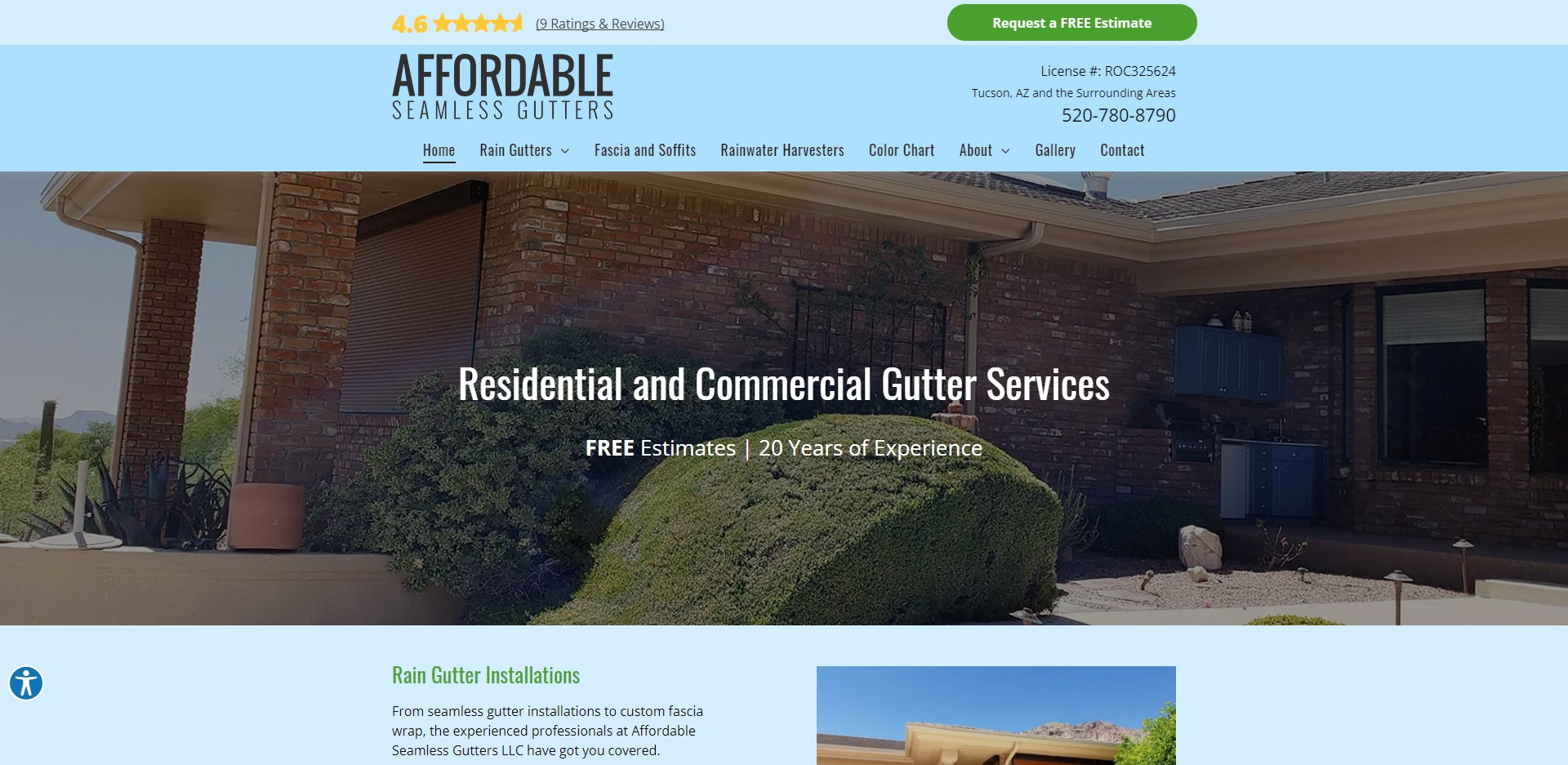 The Best Gutter Maintenance in Tucson, AZ