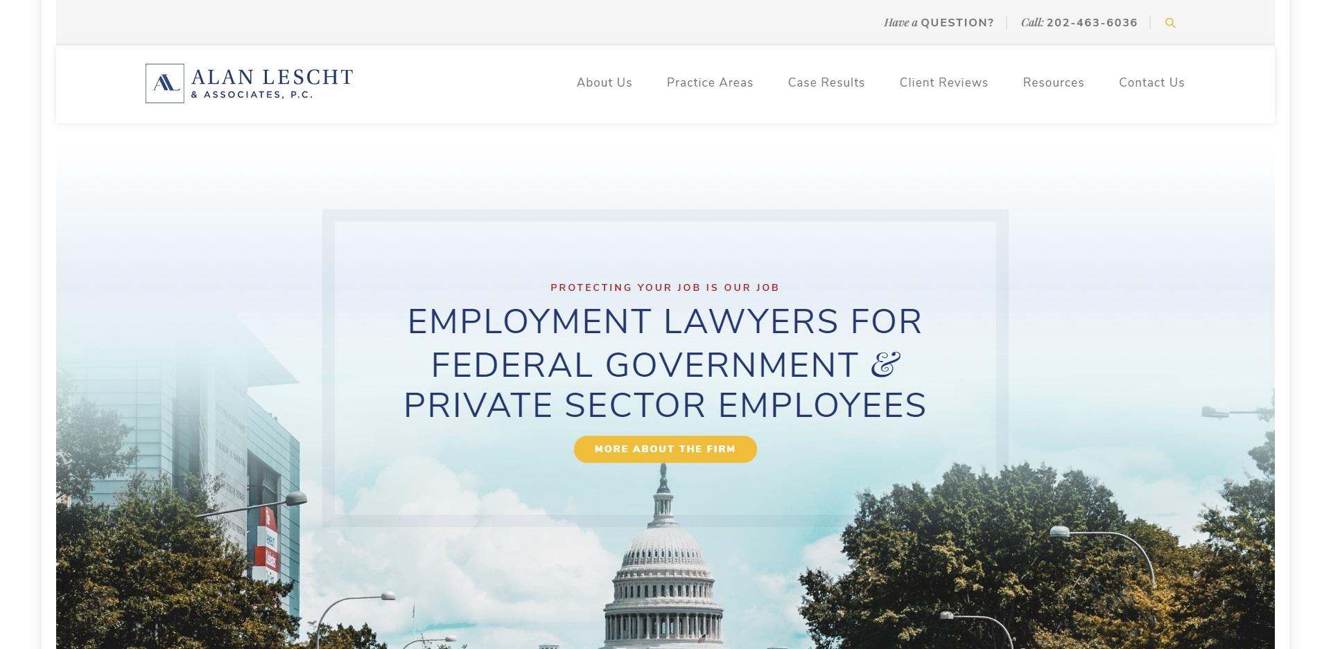 5 Best Unfair Dismissal Attorneys in Washington, DC