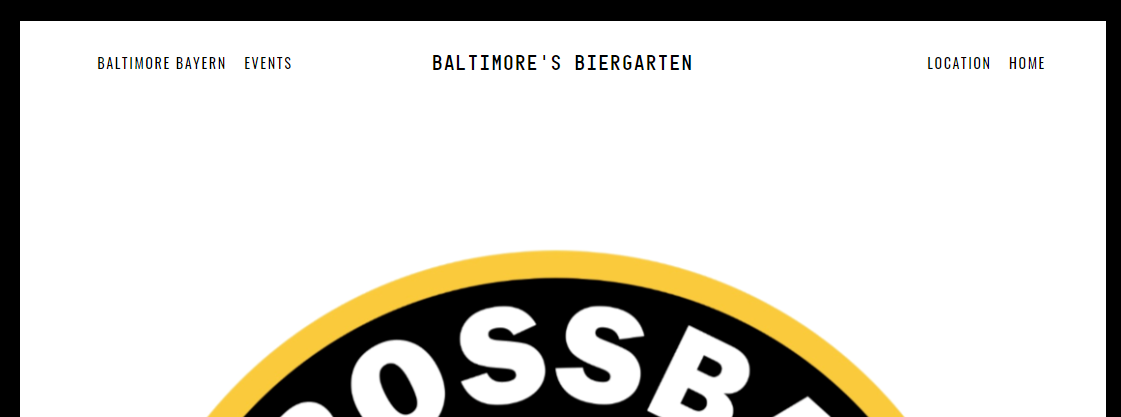 Crossbar Der Biergarten