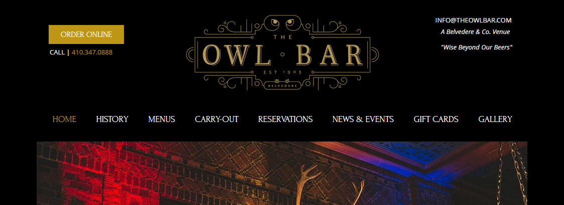 The Owl Bar Beer Halls in Baltimore, MD