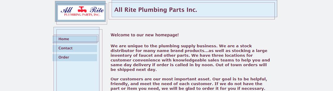 All Rite Plumbing Parts