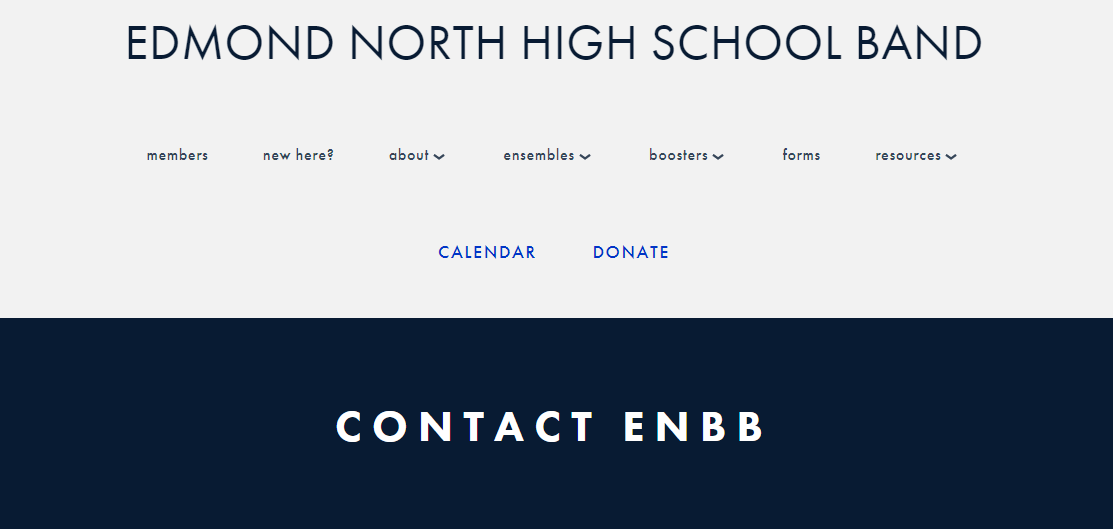 Edmond North High School Band
