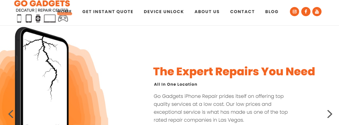 Go Gadgets Cell Phone and Tablet Repair Center