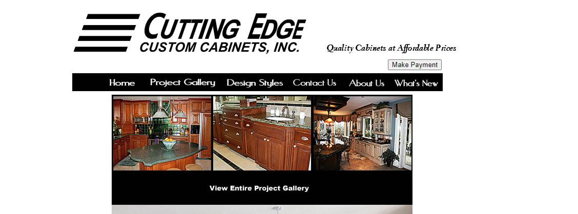 Cutting Edge Custom Cabinets
