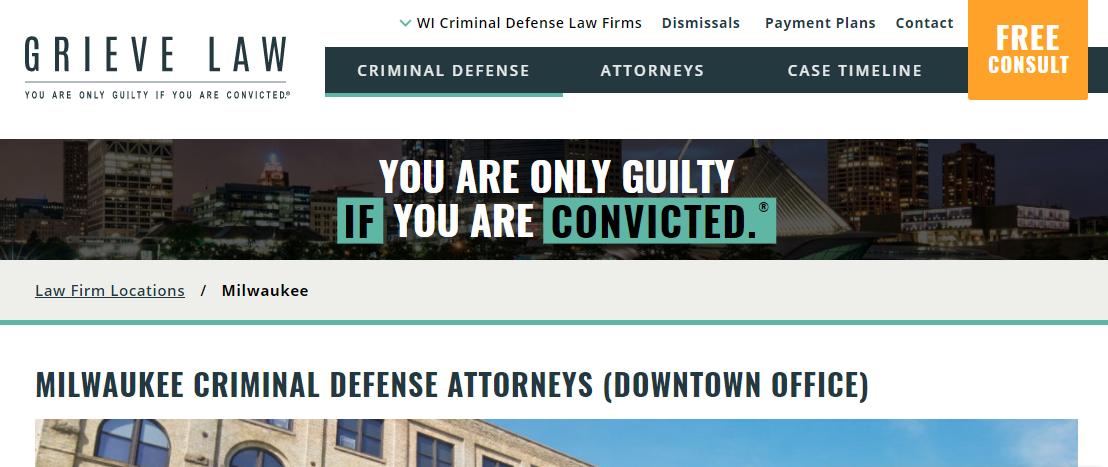 Grieve Law Criminal Defense