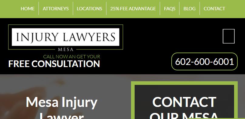 Mesa Injury Lawyers