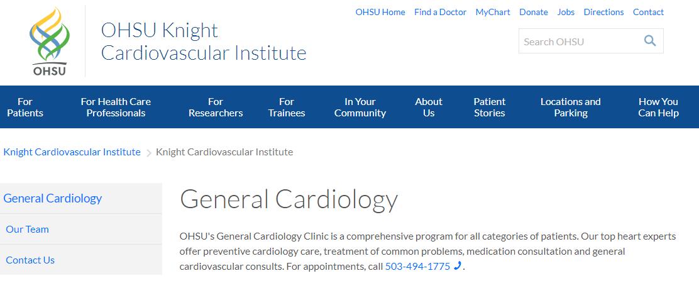 OHSU Knight Cardiovascular Institute