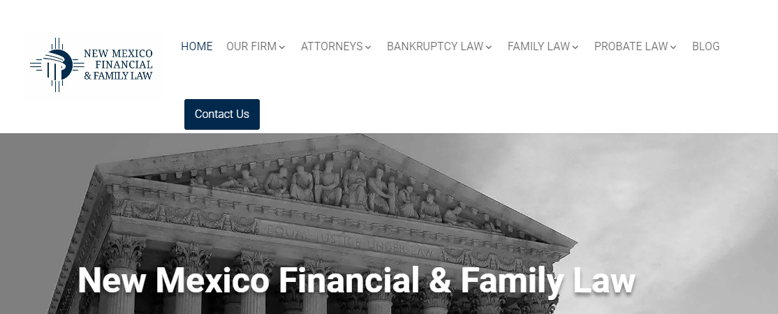 New Mexico Financial and Family Law