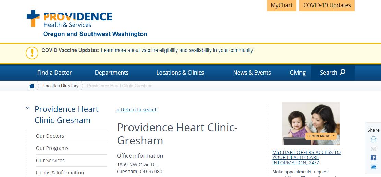 Providence Heart Clinic