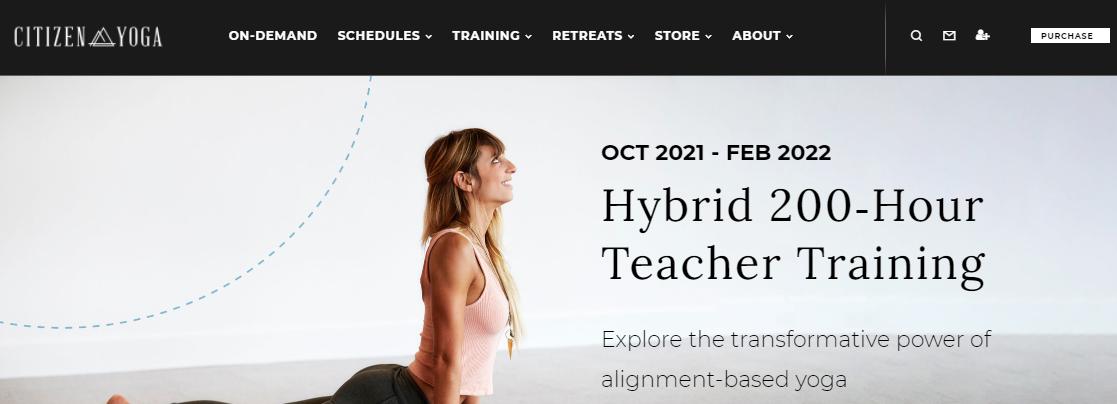 Citizen Yoga District Detroit, MI