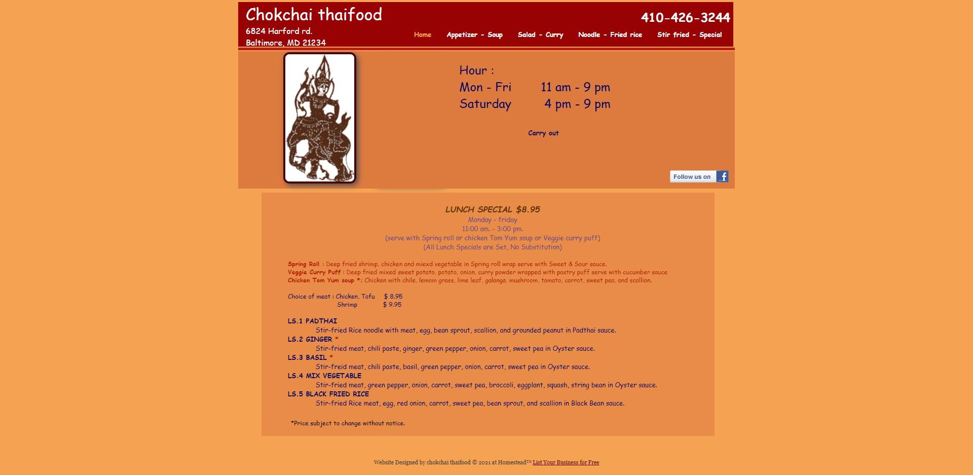 Baltimore, MD's Best Thai Restaurants