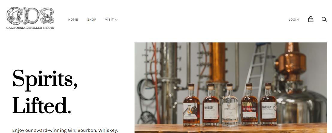 California Distilled Spirits