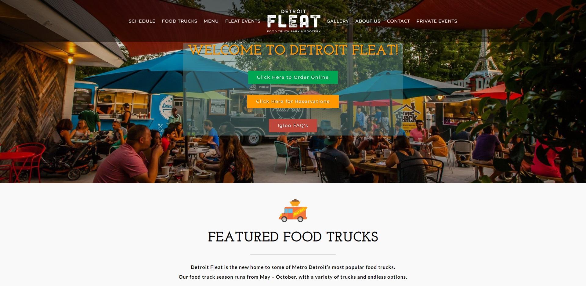 Detroit, MI's Best Food Trucks