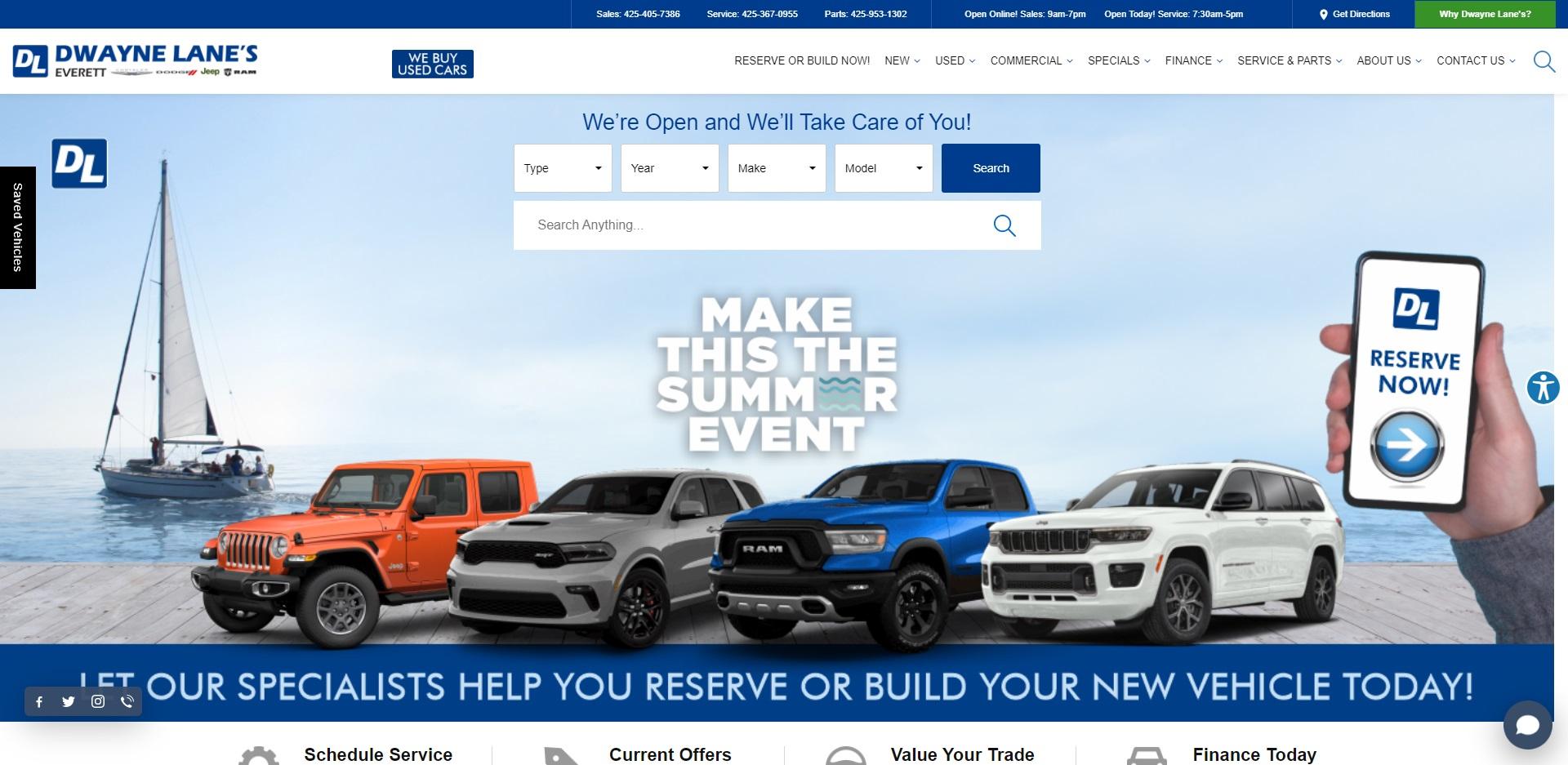 Seattle, WA Best Jeep Dealers