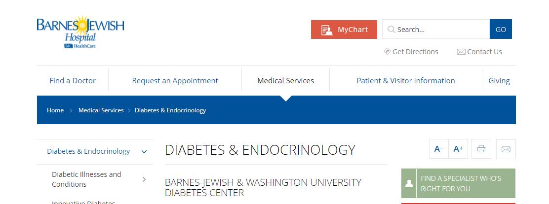 Washington University Diabetes Center