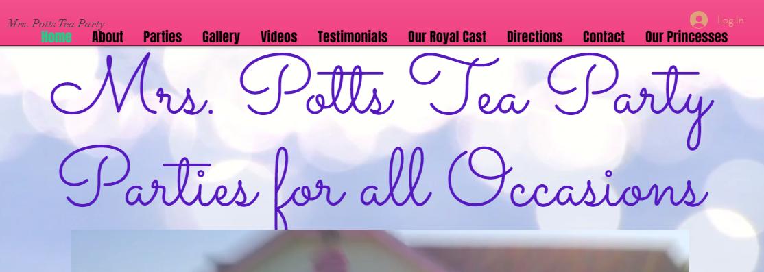 Mrs. Potts Tea PartyParty Planning in Mesa, AZ