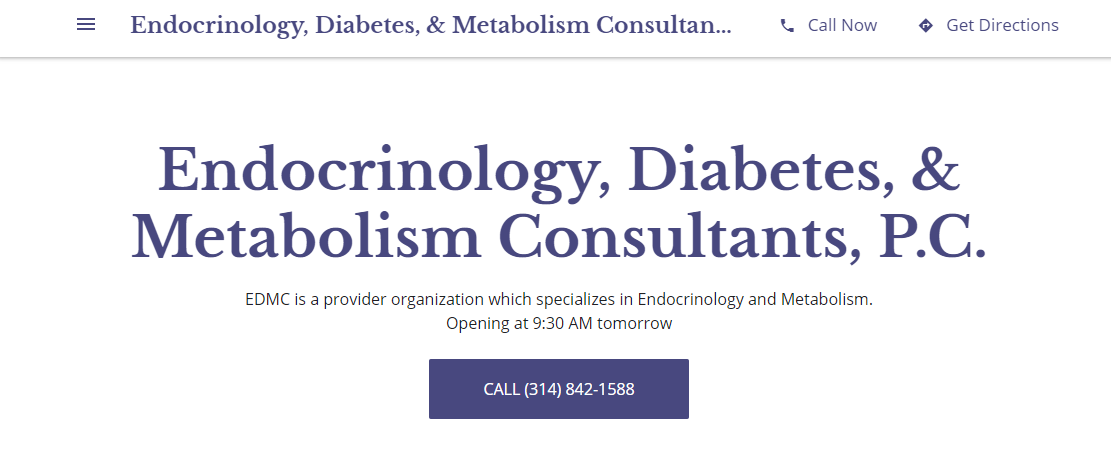 Endocrinology, Diabetes, and Metabolism Consultants, PC