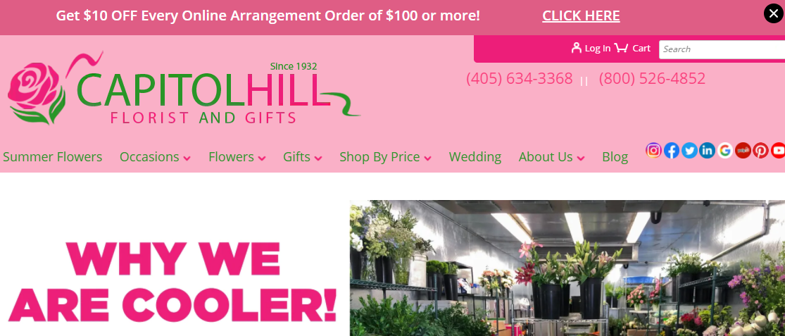 Capitol Hill Florists and Gifts