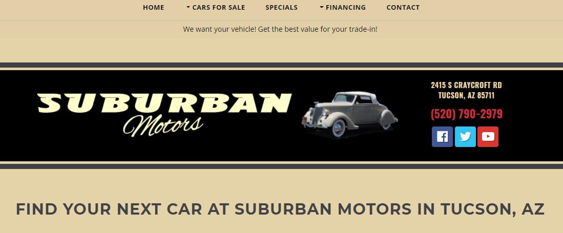 Suburban Motors