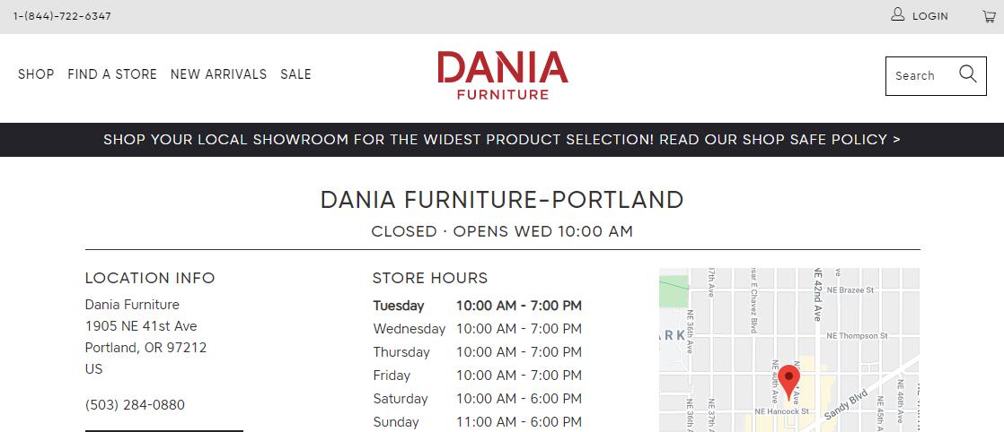 Dania FurnitureFurniture Stores in Portland, OR