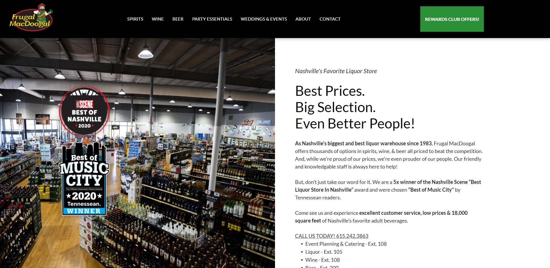 Nashville, TN's Best Bottleshops