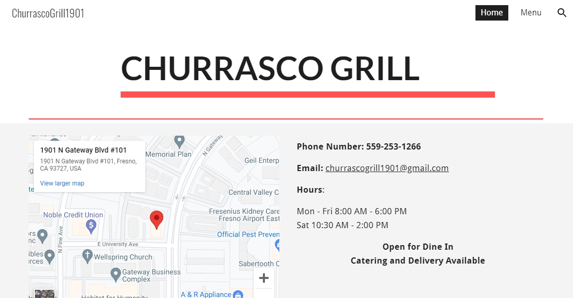Churrasco Grill Greek Food in Fresno, CA