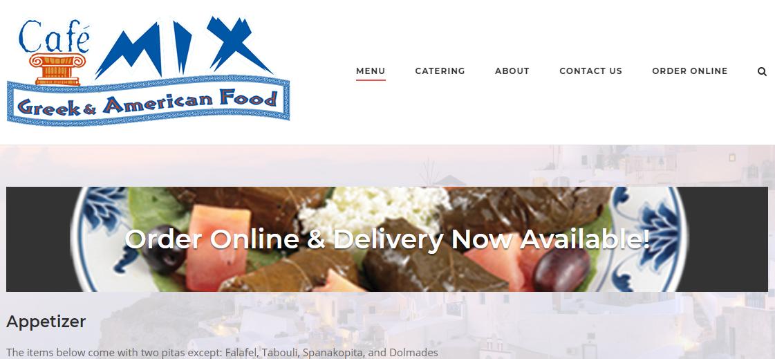 Greek and American Food