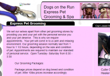 Dogs on the Run Express Pet Grooming and Spa