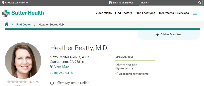 Heather Beatty, MD