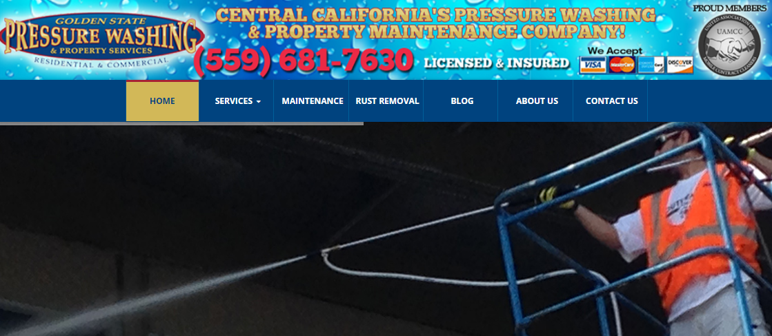 Golden State Pressure Washing and Property Services