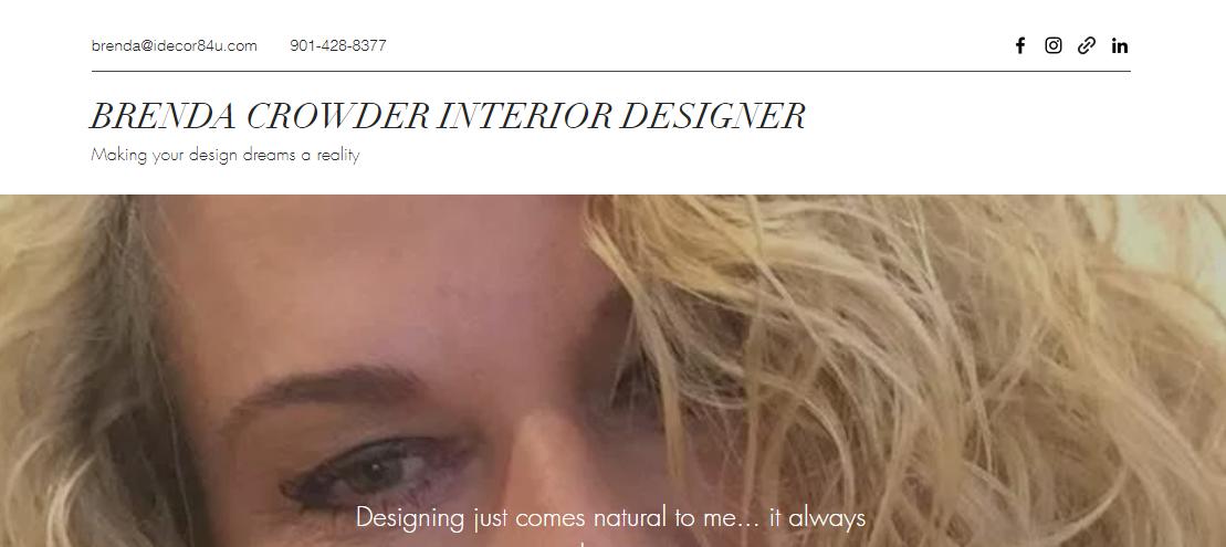 Brenda Crowder Interior Designer