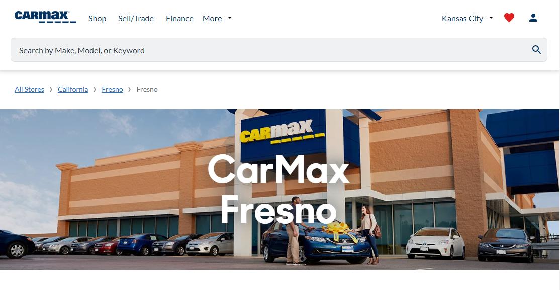 CarMax Jeep Dealers in Fresno, CA