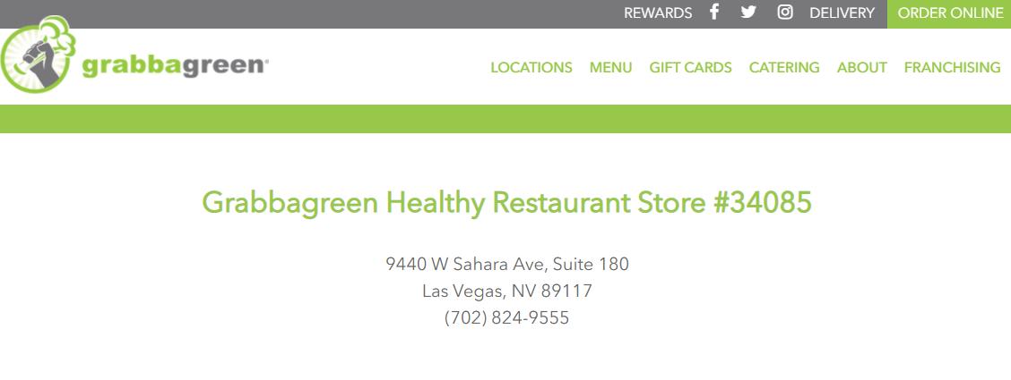 Grabbagreen Juice Bars in Las Vegas, NV