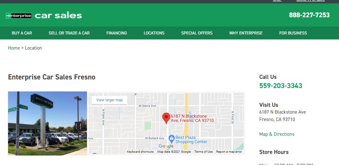 Enterprise Car Saleseep Dealers in Fresno, CA