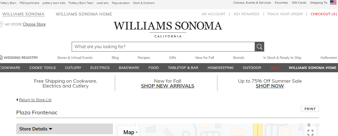 Williams- SonomaKitchen Supply Stores in St. Louis, MO