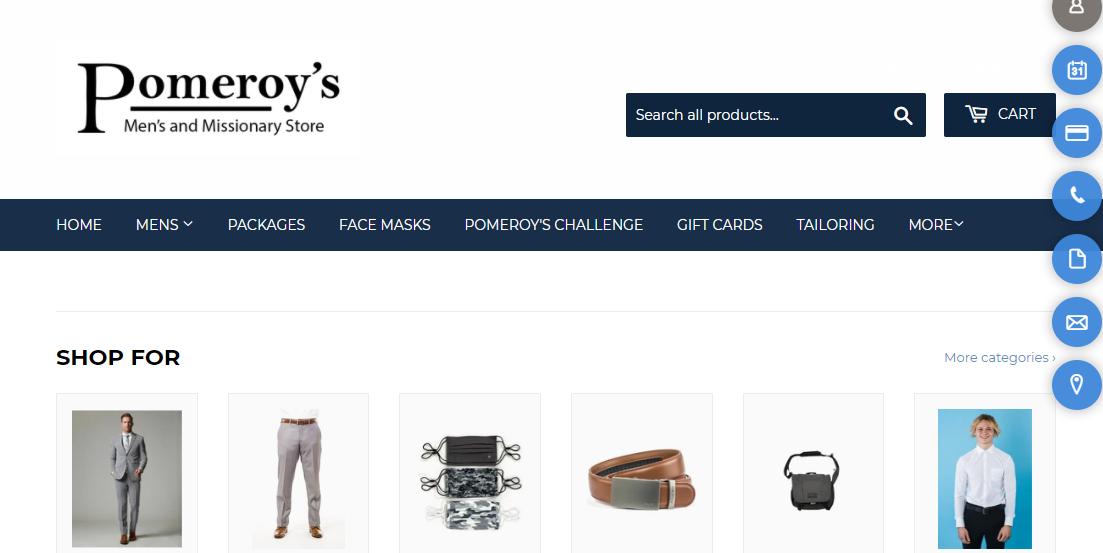 Pomeroy's Men's Store